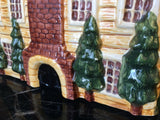 Gear Block Country Village Hand Painted Manor House Cookie Jar - Nature Land Candles