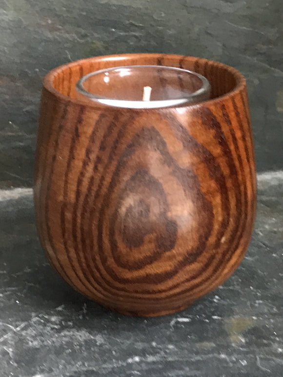 Asian Style Bamboo Candle Holder 3