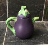 "Vintage 1996 Avon Grape 4"" Teapot Soy Lemongrass Scented Candle - Nature Land Candles"