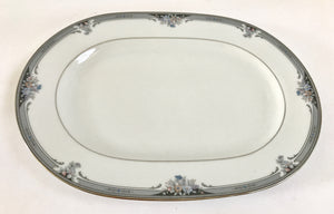 "Vintage Noritake Squirewood 4013 12"" Serving Platter - Nature Land Candles"