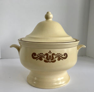 Vintage Pfaltzgraff Village Pattern 06-160 Soup Tureen - Nature Land Candles