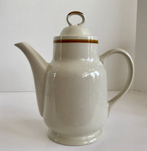"Vintage Mountain Wood Collection Japan Stoneware 10"" Coffee Pot"