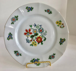 "Vintage Eamag Bavaria 9 3/4"" Flower Plate - Nature Land Candles"