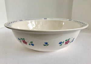 "Pfaltzgraff Bonnie Brae 11 1/2"" Pasta/Mixing Bowl - Nature Land Candles"