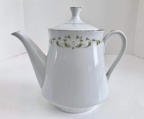 Sheffeld Fine China Japan, Elegance 502 T 6 Cup Teapot - Nature Land Candles