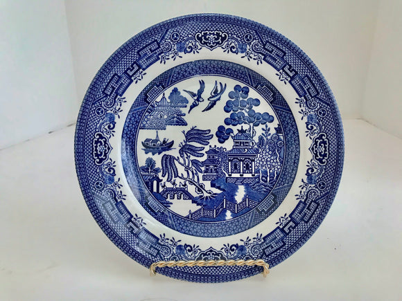 Churchill England Blue Willow Ware 8