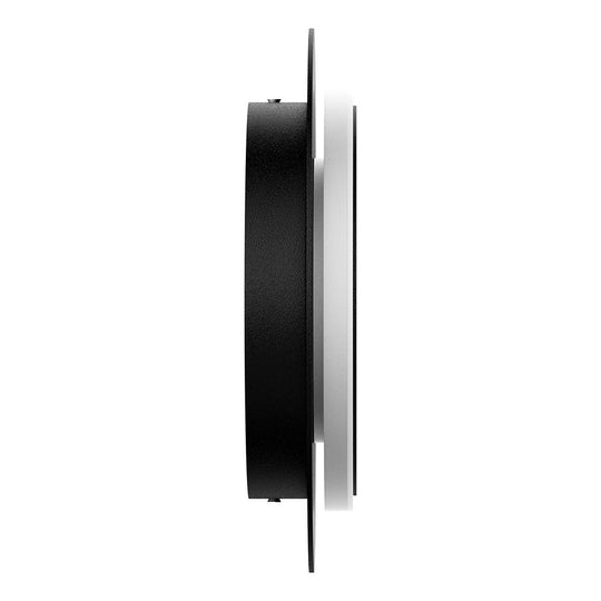 Unique Circular Wall Sconce, 11W, 3000K, Diameter 9.9 inch, Modern Round Lamp