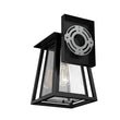 Load image into Gallery viewer, Matte Black Finish Wall Sconce Fixture, UL Listed for Damp Location, E26 Socket Wall Lamp, 3 Years Warranty