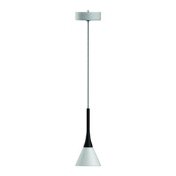 Modern Cone Pendant Lighting - 7W - 3000K - 340LM - Sand white Body Finish - Dimmable - 1-Light