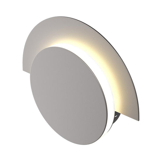 Wall Sconces For Living Room Lighting, 10W, 3000K (Warm White), 483LM, Dimmable, Round
