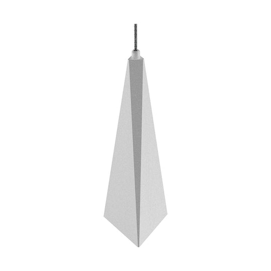 1-Light - Modern LED Three Dimensional Triangle Geometric Chandeliers - 6W - 3000K - 462LM - Dimmable