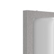 Load image into Gallery viewer, 12W Rectangle Shape LED Outdoor Wall Sconce, Painted Silver Finish, White Acrylic Shade, ETL Listed