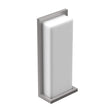 Load image into Gallery viewer, 20W Modern LED Outdoor Wall Sconce, Painted Silver Finish, ETL Listed - Wet Location