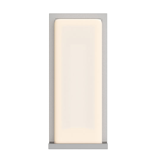 20W Modern LED Outdoor Wall Sconce, Painted Silver Finish, ETL Listed - Wet Location
