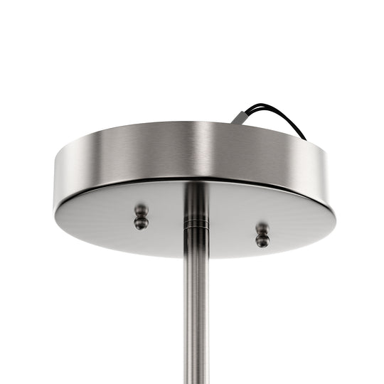 LED Semi-Flush Mount Light, 28W, 1950 Lumens, Dimmable, Round Close To Ceiling Lights