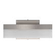 Load image into Gallery viewer, 9W Dimmable LED Wall Sconce Light, 3000K (Warm White), Brushed Nickel Finish, 500 Lumens, ETL Listed