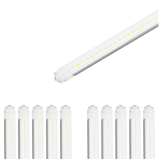 T8 8ft 48w R17 Tube Light 5760 lumens 5000K clear
