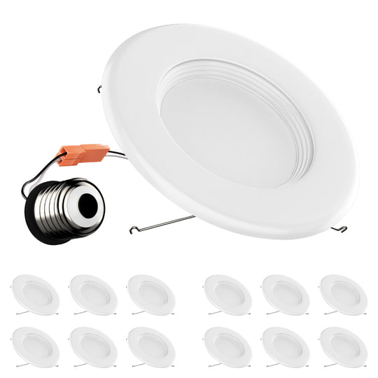 5/6-inch Dimmable LED Downlights / Can Lights 1000 Lumens ; 15W CRI90+
