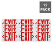 Load image into Gallery viewer, Emergency Light Exit Sign , 4W , Red Large Size , UL Listed