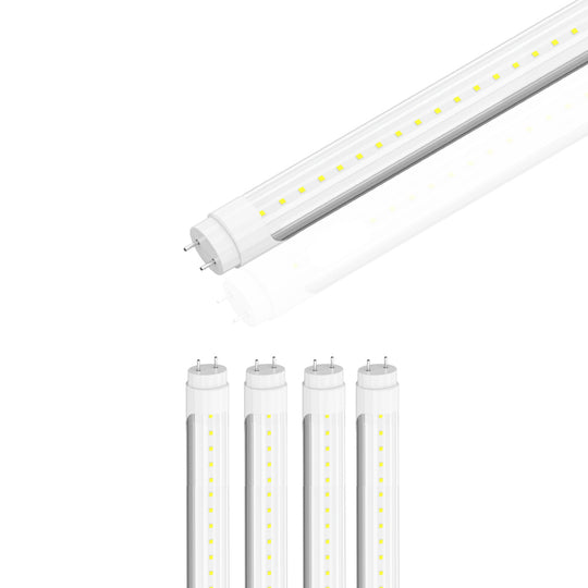 Ballast Compatible T8 4ft 20W LED Tube 3000 Lumens 6500K Clear (Check Compatibility List; Not Compatible with all ballasts)