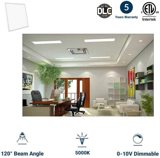 LED Panel 2X4; 70W 5000K; Dimmable; DLC Listed