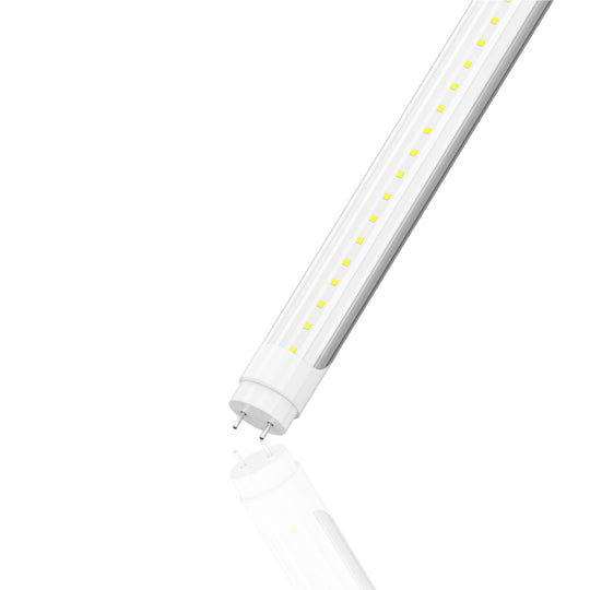 Ballast Compatible T8 2ft LED Tube 8W 5000K Clear (Check Compatibility List; Not Compatible with all ballasts)