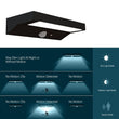 Load image into Gallery viewer, Smart LED Solar Wall Lamp with PIR Sensor, Rectangle, (HY01WSRB)