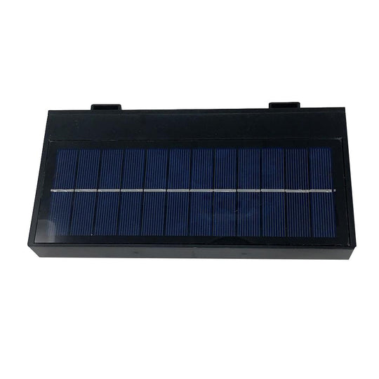 Smart LED Solar Wall Lamp with PIR Sensor, Rectangle, (HY01WSRB)