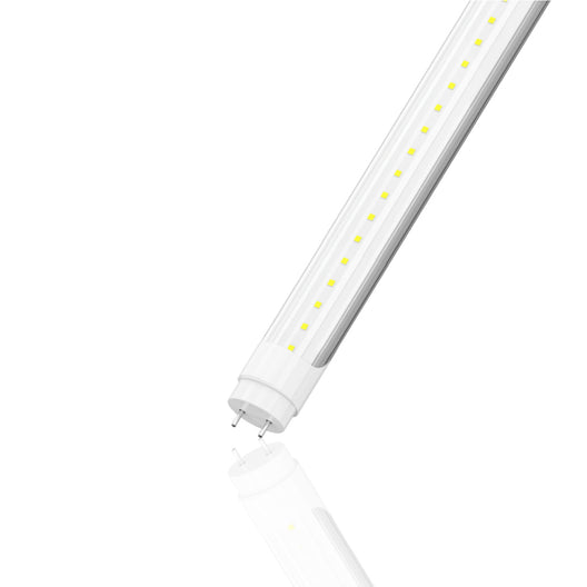 T8 4ft 22W LED Tube 3080 Lumens 5000K Clear Single Ended Power