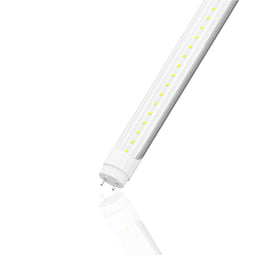 T8 4ft 22W LED Tube 6500K Clear 3080Lumens Single Ended Power
