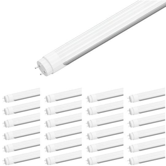 Ballast Compatible T8 4ft 20W LED Tube 3000 Lumens 5000K Frosted (Check Compatibility List; Not Compatible with all ballasts)