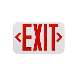 Emergency Light Exit Sign , 4W , Red Large Size , UL Listed
