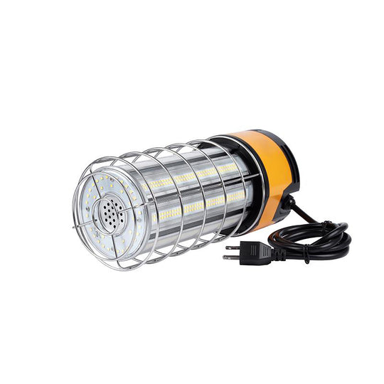 100W Work Light Fixture with cage , 5000K , 12000 Lumens , IP65 rated