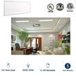 Load image into Gallery viewer, LED Panel 1X4, 40W, 4000K, 4000 Lumens, Dimmable and DLC Listed