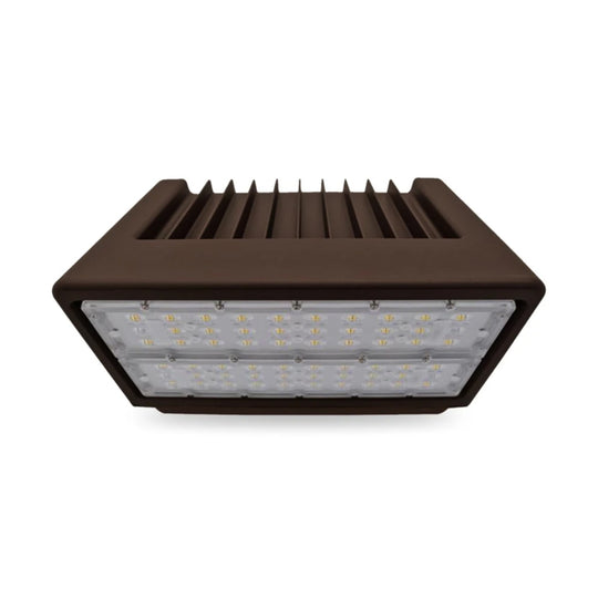 150W Full cut-off LED Wall Pack Light ; 5700K ; AC100-277V Bronze