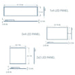 Load image into Gallery viewer, LED Panel 2X4; 70W 5000K; Dimmable; DLC Listed