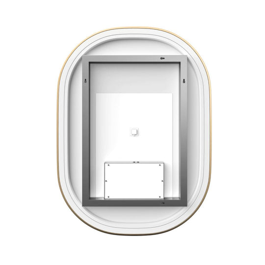 Inch LED Lighted Bathroom Mirror, CCT Remembrance and Touch Sensor Switch, Neu-U Style