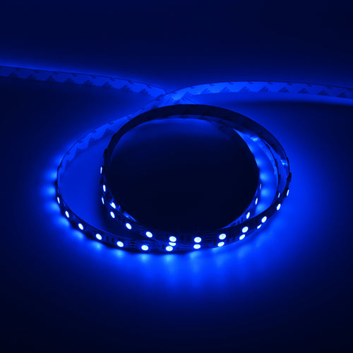RGB LED Light Strips - 12V LED Tape Light w/ DC Connector - 63 Lumens/ft.