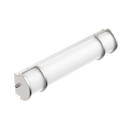 Half Cylinder LED Vanity Light Fixture, CCT Changeable (3000K/4000K/ 5000K) , White Acrylic Shade, CRI >80