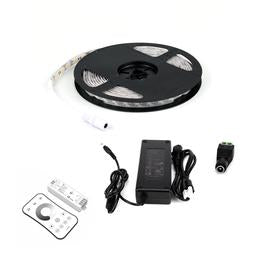 12V LED Strip Lights - LED Tape Light with Connector- 378 lumens/ft with Driver and Controller (KIT)
