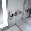 Load image into Gallery viewer, LED Lighted Bathroom Mirror Cabinet, Double Sided Mirror, On/Off Switch, Benign Style