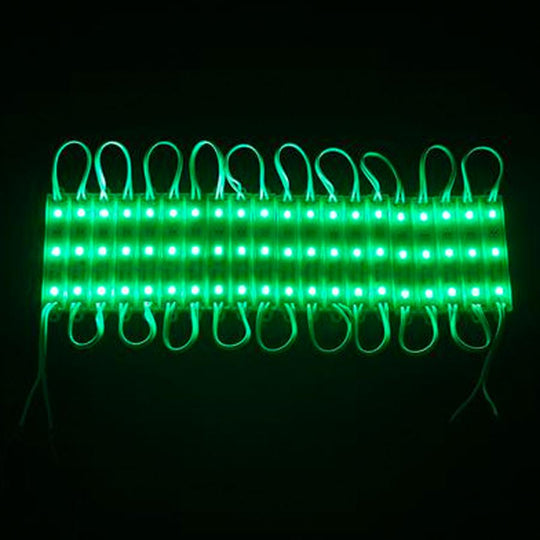 40-Pack LED Module, 3leds/mod, DC12V, 0.72W, Green
