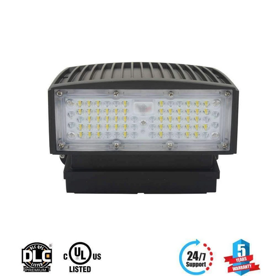 Wall pack 35w 5700K ; 4000 Lumens