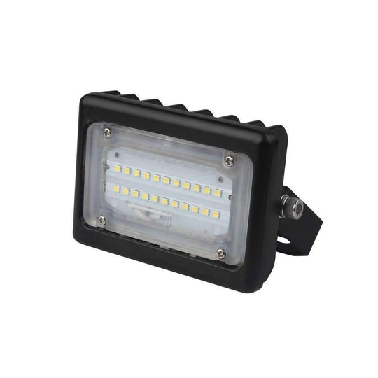 LED Flood Light 15 Watt 5700K Black Finish - LEDMyplace