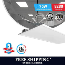 Load image into Gallery viewer, Led Panel 2X4 70W 5000K Dimmable 1pc - WenLighting