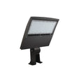 Load image into Gallery viewer, 150W LED Pole Light with Photocell - 5700K - Yoke Mount Bronze - AC100-277V