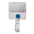 Load image into Gallery viewer, 150W LED Pole Light with Photocell; 5700K ; Universal Mount ; White ; AC100-277V