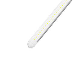 T8 8ft 48W R17 LED Tube Light 5760 Lumens 6500K Clear
