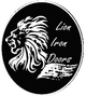 lion iron doors logo