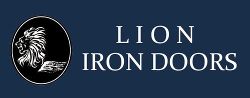 Lion Iron Doors